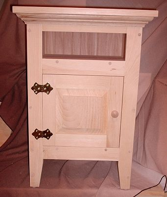 Bedside Table, Bedside Nightstand Table