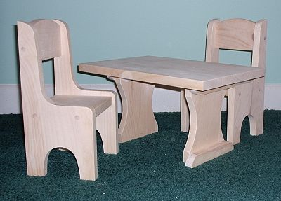 Doll Table and Chairs, woodcrafts, wood crafts, children, dolls, furniture, Pop's Wood Shop
