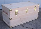 Steamer Trunk, Pop's Wood Shop, chest, woodcrafts, wood crafts