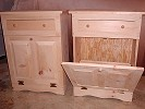Trash Bin, trash can, Pop's Wood Shop, woodcrafts, wood crafts